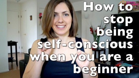 stop being self-conscious