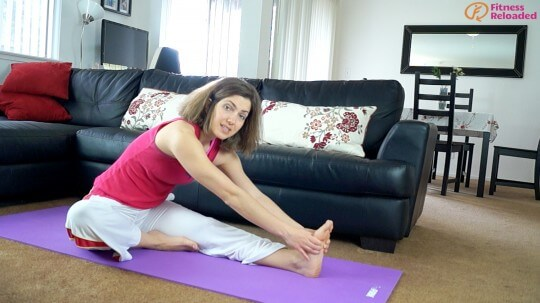 leg flexibility stretching