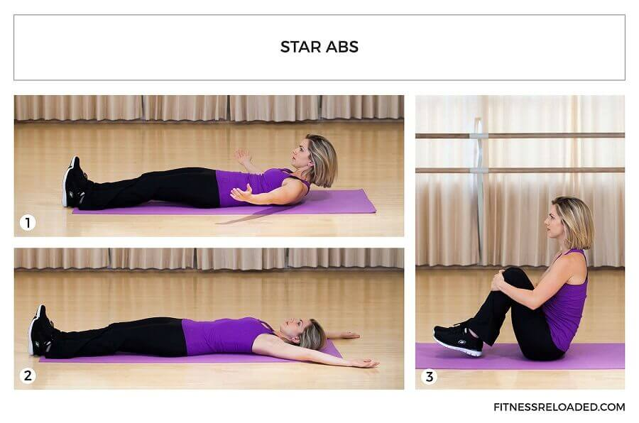 6 Types Of Crunches For Abs Hint The Star Crunch Is