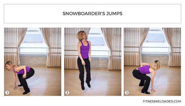snowboarder's squats