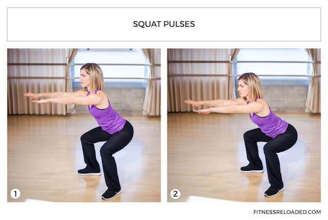 squat pulses