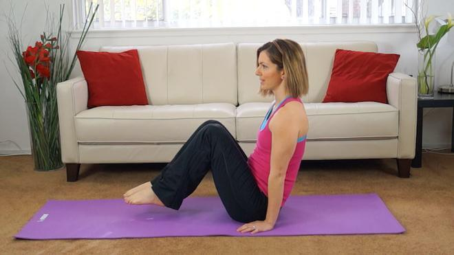 Top exercises for abs on the floor