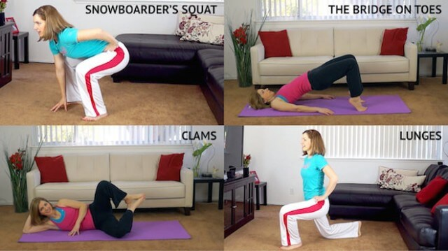 10 Best Exercises for Lean Legs and Butt for Lazy People