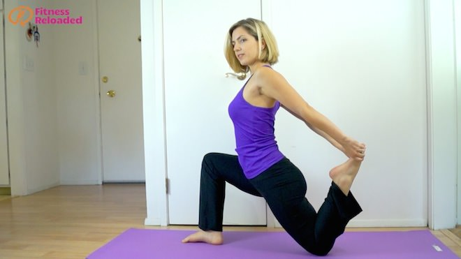 Best Hip Flexor Stretch for Anterior Pelvic Tilt, Kyphosis, and Lordosis