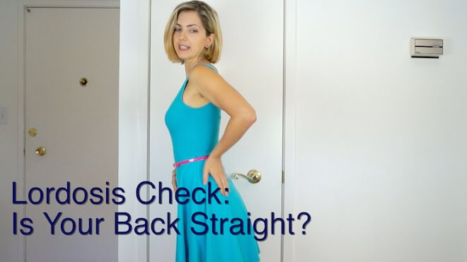 Home Lordosis Assessment: Is Your Back Straight?