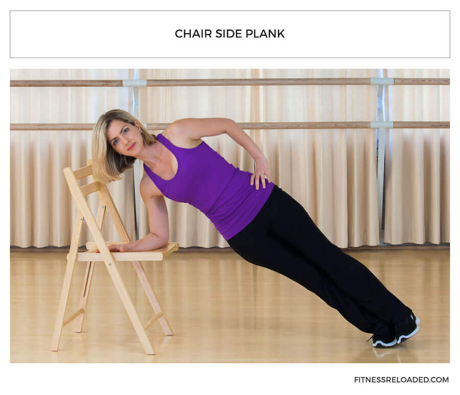 chair side plank