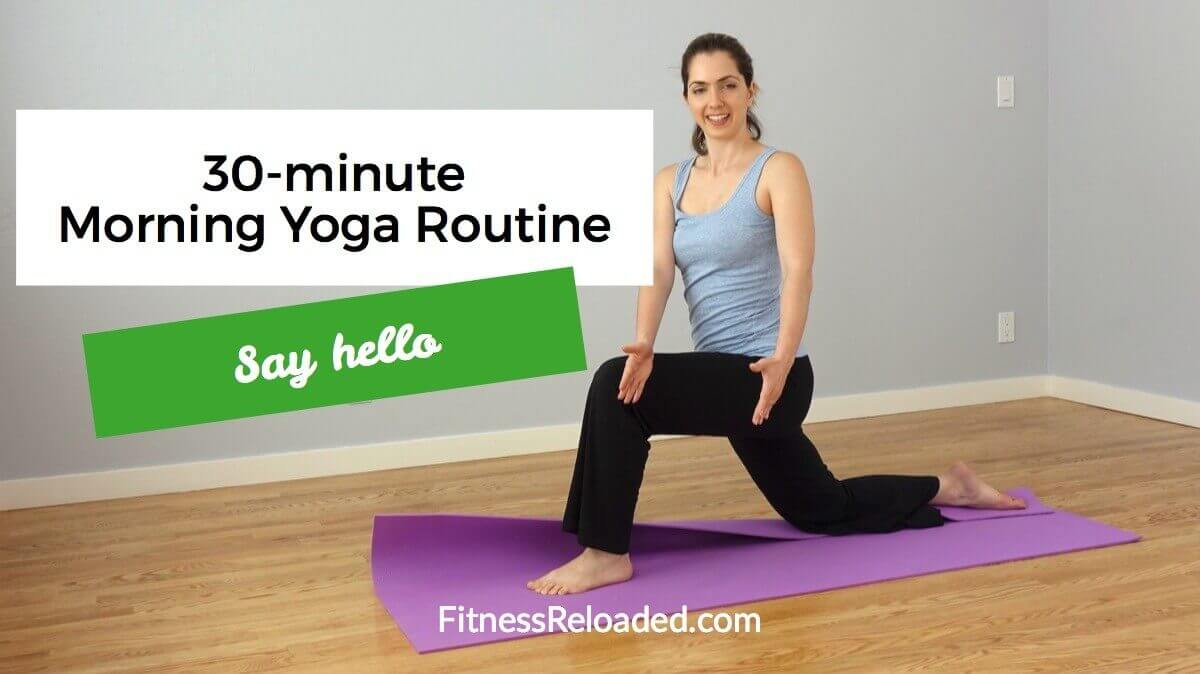 30-Minute Morning Yoga Sequence: 'Say Hello.' (video)