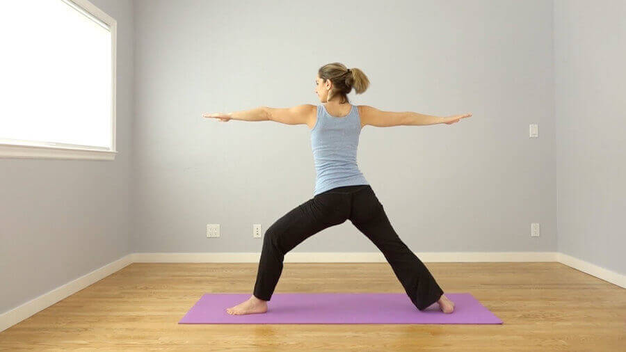 Warrior II - Morning Yoga Sequence