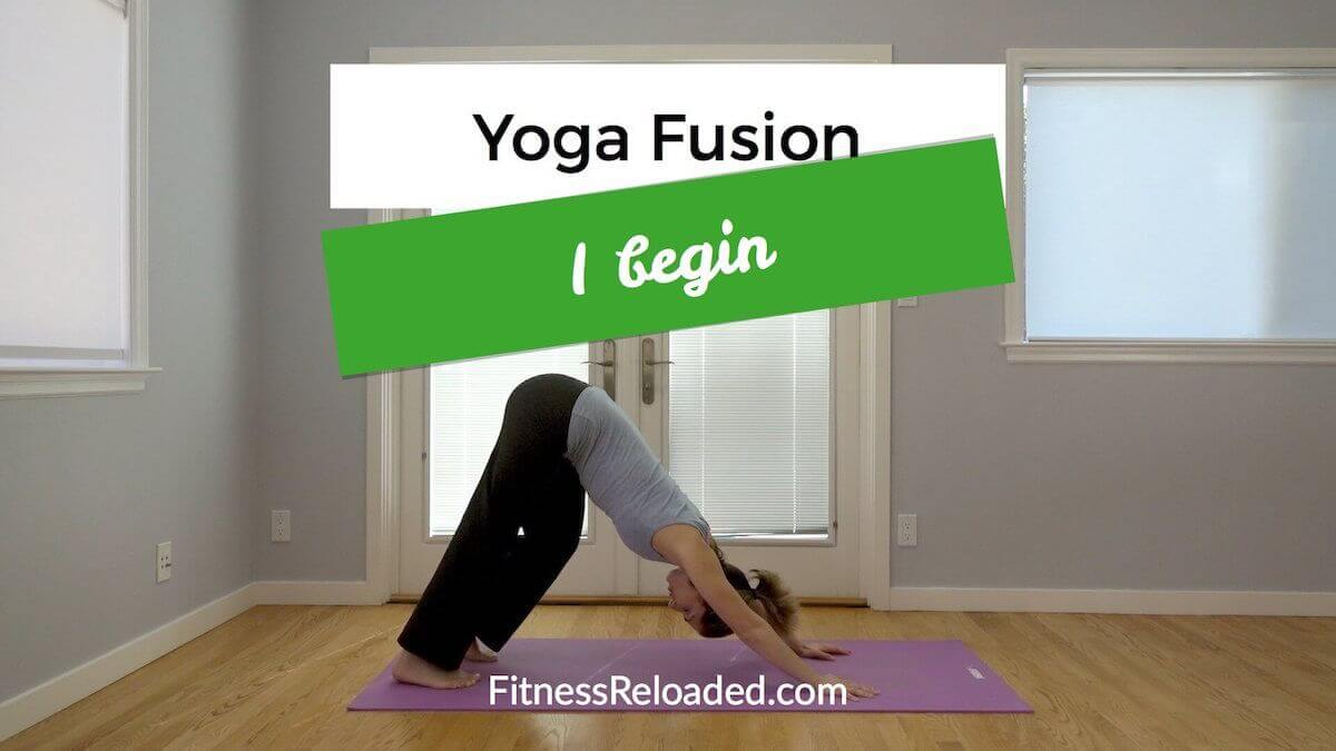 30-Minute Yoga Workout Routine: 'I begin.' (video)