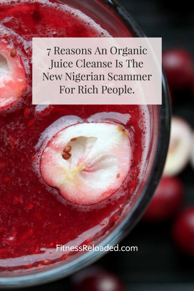 organic juice cleanse benefits