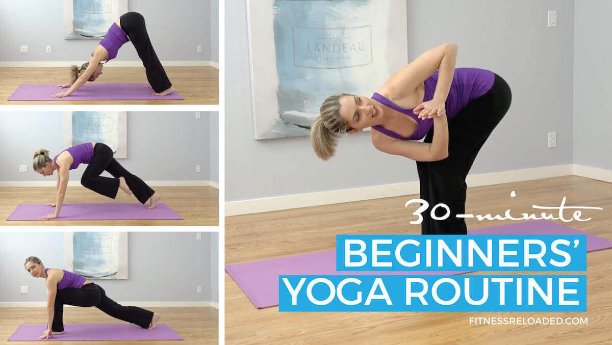 30-Minute Beginners' Yoga Routine & Transitions Instruction For Coordination.