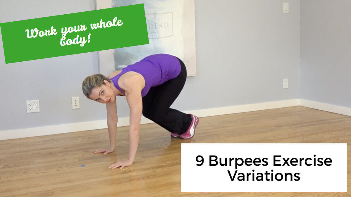 9 Burpees Exercise Variations: Work Your Whole Body With One Move!
