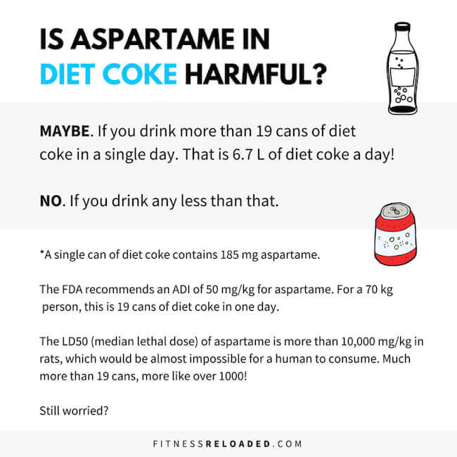 diet coke aspartame