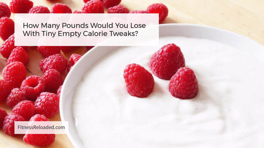 How Many Pounds Would You Lose With Tiny Empty Calorie Tweaks?