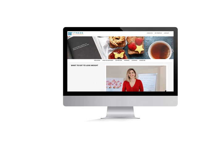 nutrition library mockup