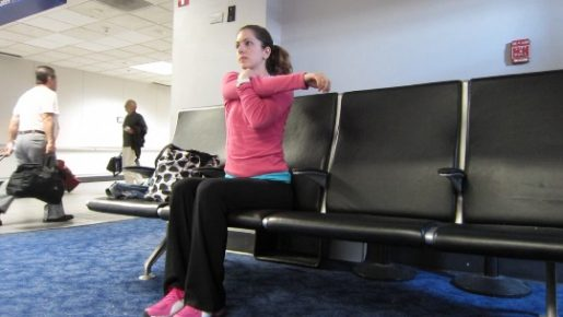 Stretch at the airport