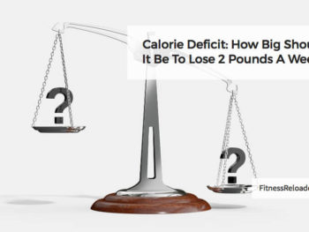 calorie deficit lose 2 pounds a week